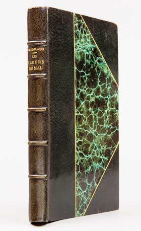 Fleurs du Mal Flowers of Evil Charles Baudelaire first edition