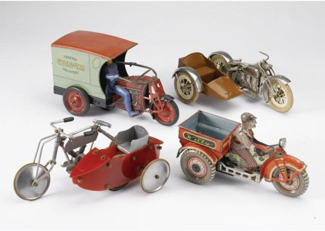 Malcolm Forbes toy motorbikes