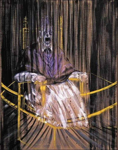Francis Bacon's Screaming Pope