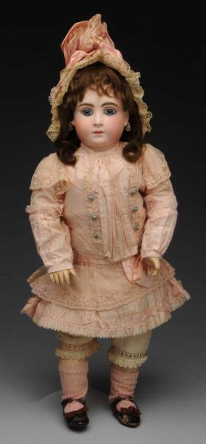 French bisque doll H