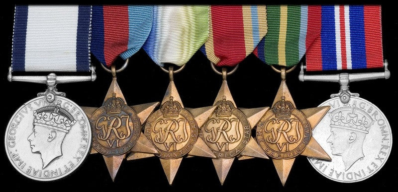Fuller's Conspicuous Gallantry medal set