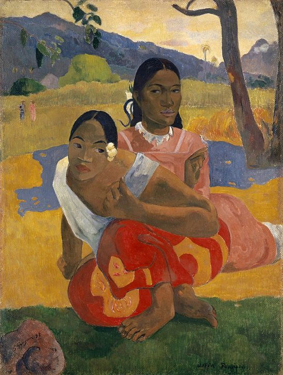 Gauguin Marry painting