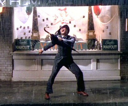 Gene Kelly Singing in the Rain suit