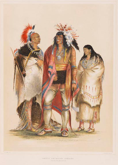 George Caitlin North American Indian portfolio