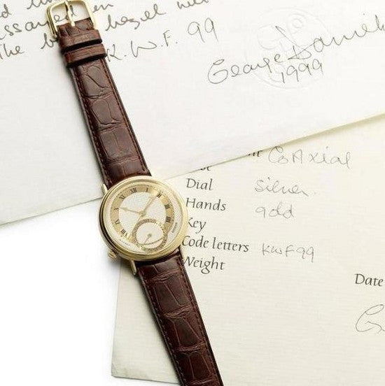 George Daniels wristwatch