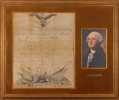 George Washington signed discharge