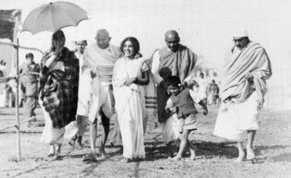 Ghandi was the preeminent leader of Indian nationalism in British ruled India. He famously led campaigns involving non-violent civil disobedience.