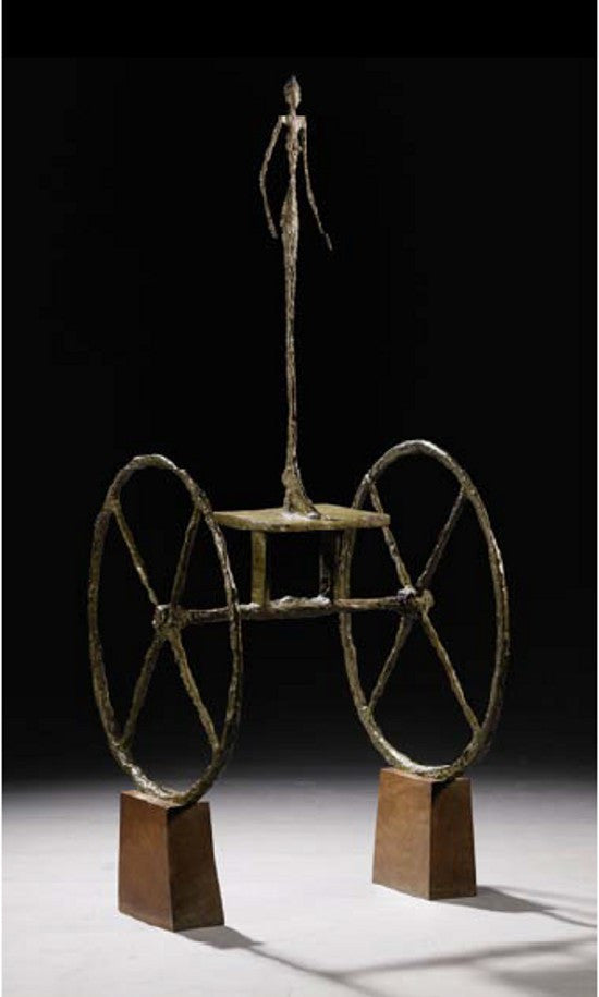 Giacometti Chariot Sotheby's