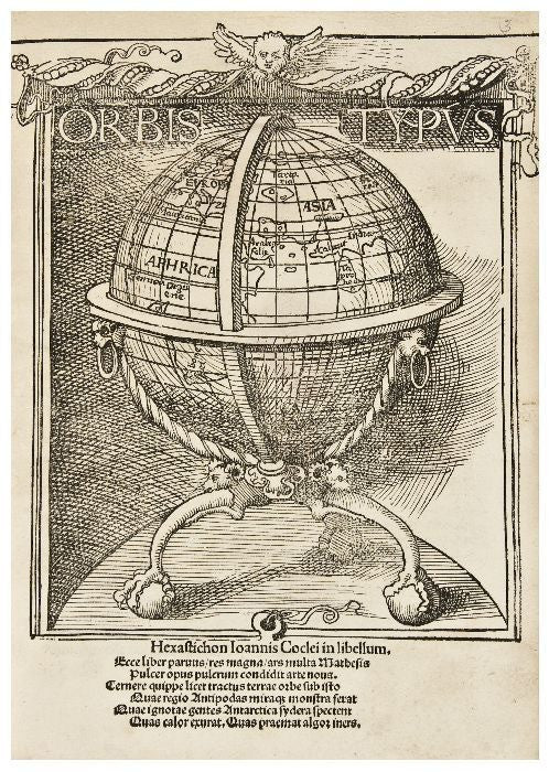 Johann Schoener's book relating to his 1515 globe
