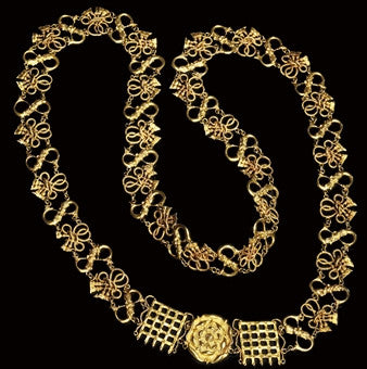 Gold livery Tudor chain of office
