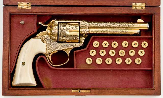 Gold plated colt