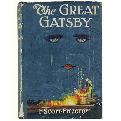 The Great Gatsby first edition F Scott Fitzgerald