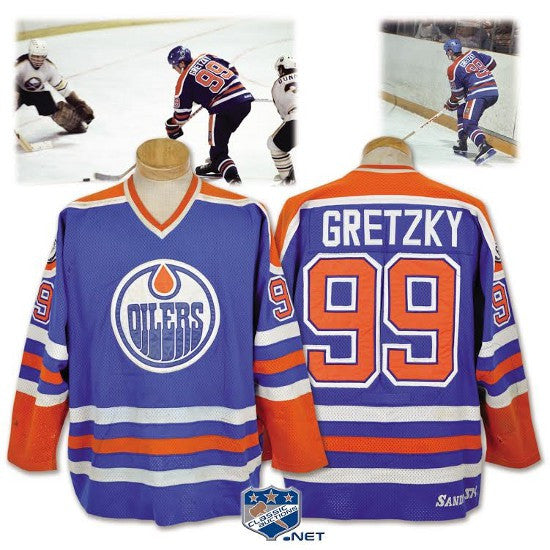 Gretzky Oilers shirt