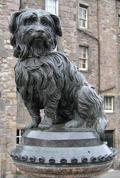 Greyfriars Bobby auction cast