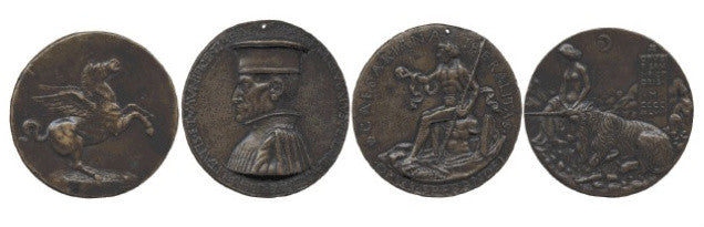 Michael Hall medals collection Renaissance