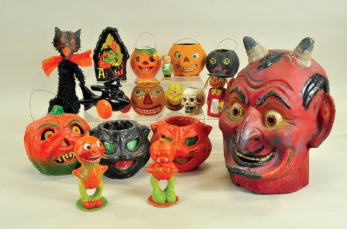 Some items from the famous Claire Lavin Halloween Collection