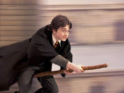 Image result for harry potter flying