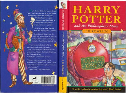 Harry Potter Philosophers Stone First Edition