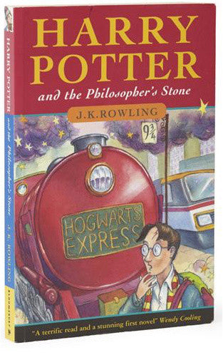 Harry Potter and the Philosopher's Stone autographed