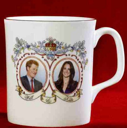 Prince Harry and Kate Middleton mug