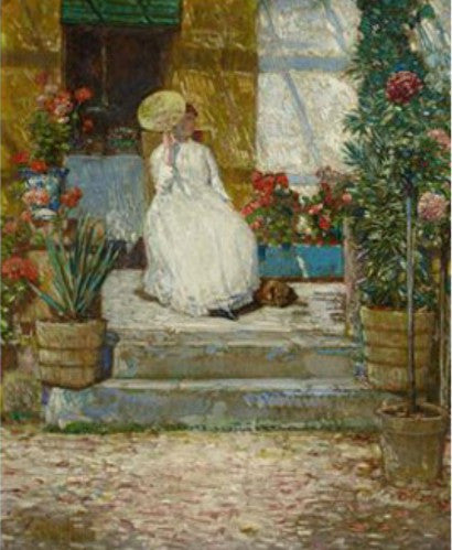 Childe hassam in the sun stolen sothebys