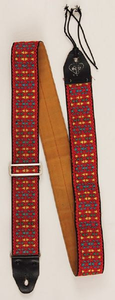 Jimi Hendrix's guitar strap from Monterey 1967