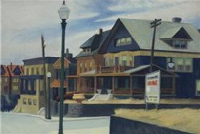 Edward Hopper East Wind Over Weehawken
