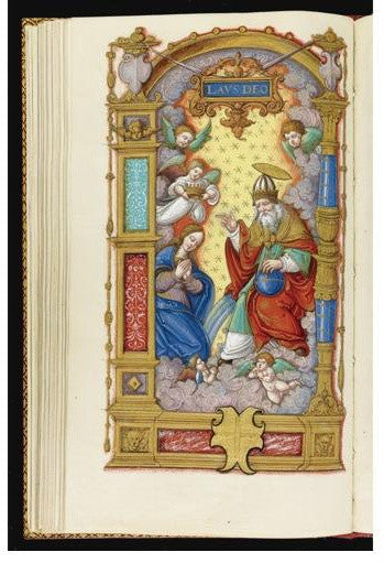 Rare manuscript: The Hours of Anne de Montmorency