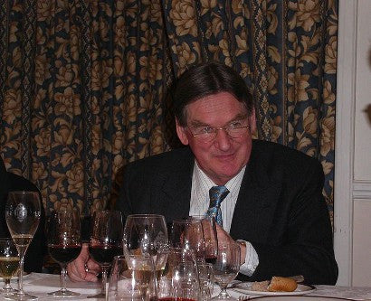Hugh Johnson wine writer