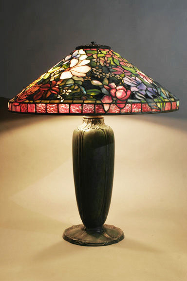 Huysum-Bouquet Porcelli lamp