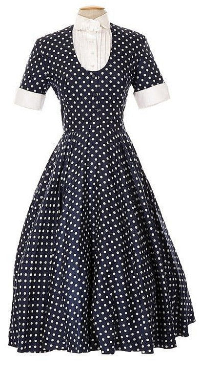 I Love Lucy dress Lucille Ball polka dot