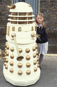 Happier days: the Dalek in its 1988 television appearance