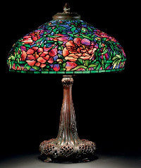 An 'Elaborate Peony' lamp from the Gluck Collection ($1.5m)