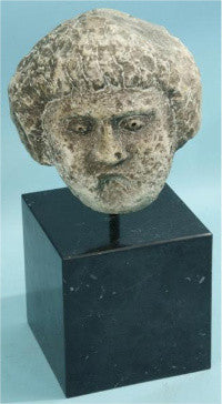 A 5th-6th century Roman carved head ($2k-3k)