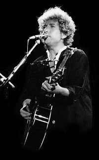 Folk legend Bob Dylan