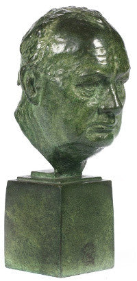 Winston Churchill bust (�3,000-5,000)