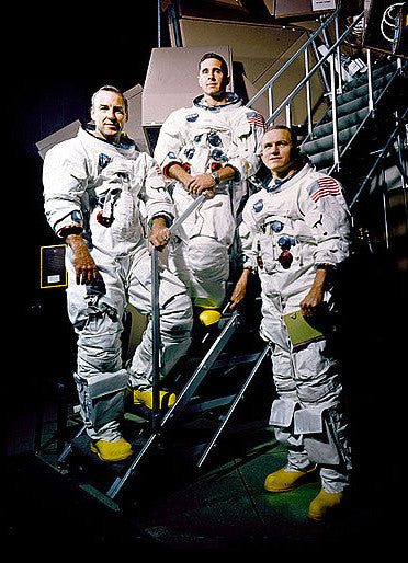 Apollo 8's Frank Borman, James Lovell and William Anders