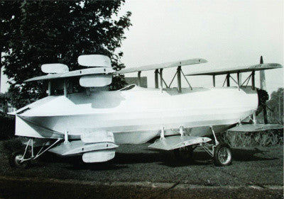 Frank Skroback's flying car