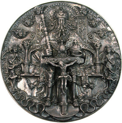 The crucified Christ, as depicted on the Hans Reinhart The Elder medal
