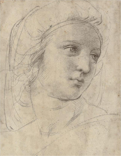 Raphael's Head of a Muse (�29.2m)