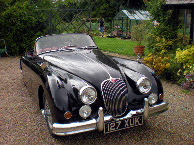 K For A Jaguar Open Top Sports Car Paul Fraser Collectibles - Sports cars 70k
