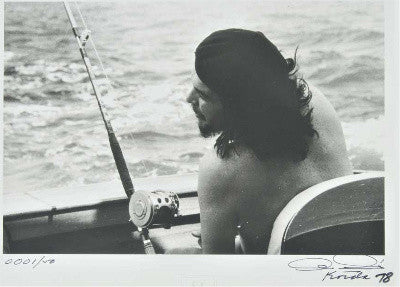 Che Guevara fishing
