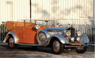 The 1934 Rolls-Royce 40/50 HP Phantom II Continental Cabriolet