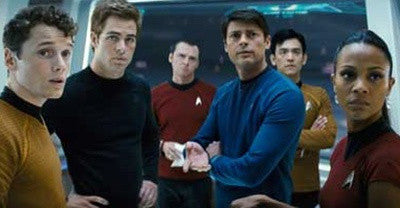The cast of Star Trek 2009
