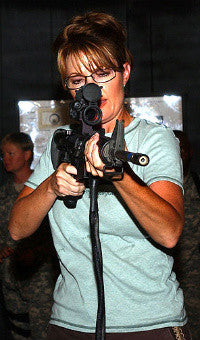 One time Vice-Presidential candidate Sarah Palin
