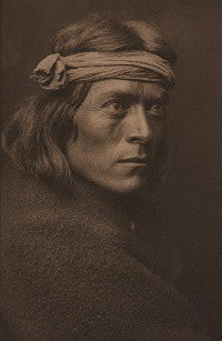 Edward S Curtis's Zuni Governor 1905 ($5,000-7,000)