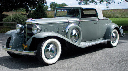 The 1931 Marmon Sixteen Convertible Coupe