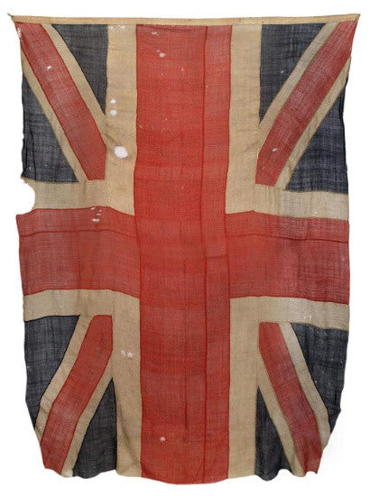 Union Jack from the 1805 Battle of Trafalgar
