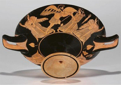 The Colmar Painter's red-figured Kylix, circa 490 BC ($250k-350k)