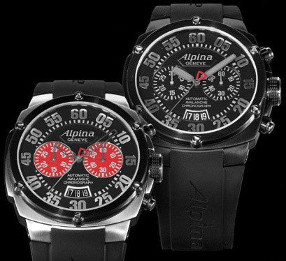 The new Alpina Avalanche Extreme Chrono Double Digit Watch